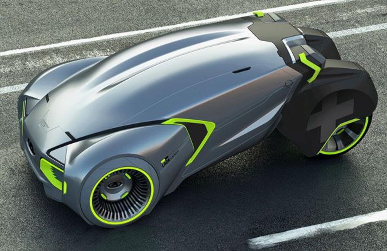 Студент показал маститым дизайнерам как должен выглядеть автомобиль Lada в будущем