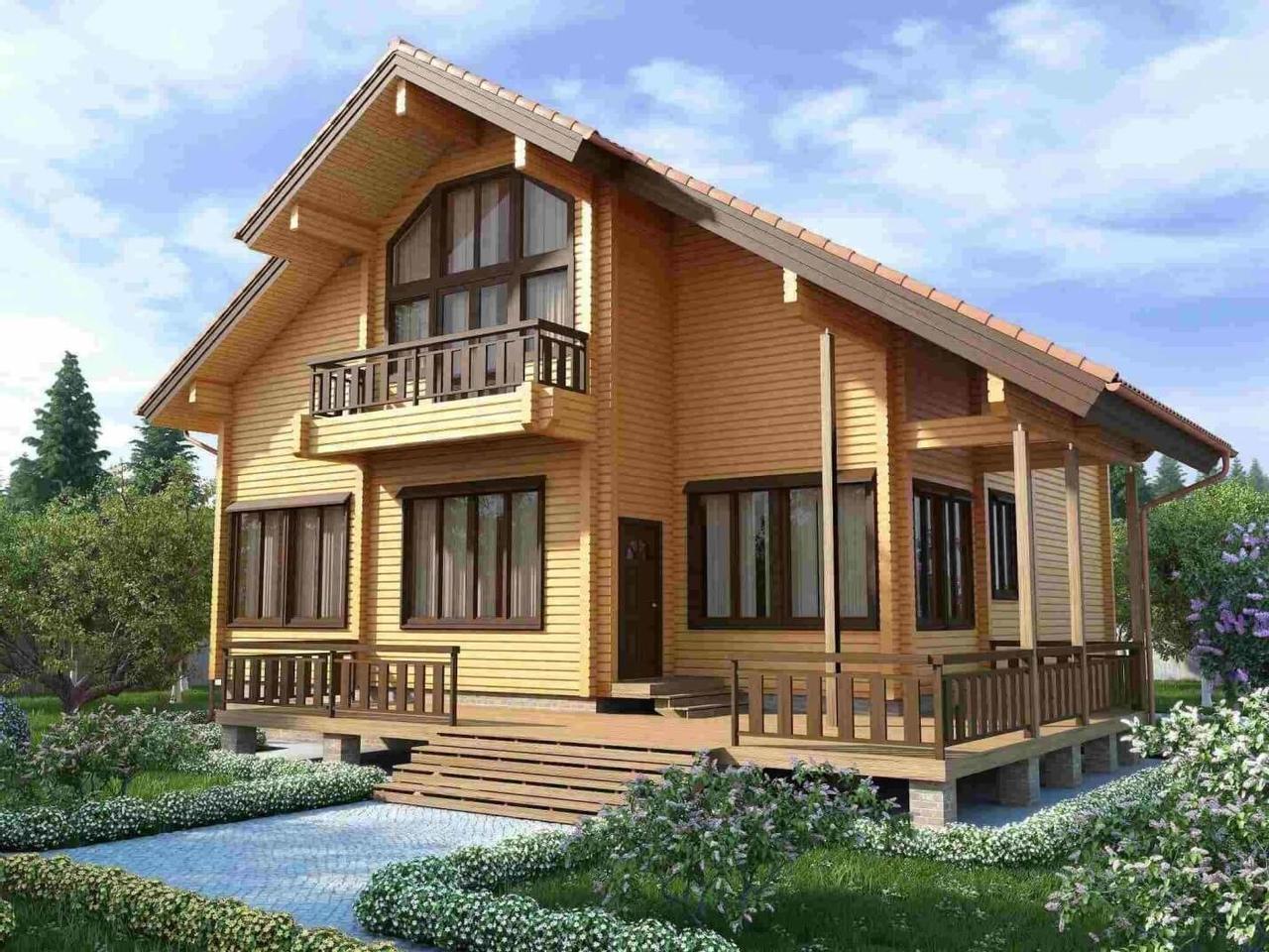 Почему дом из бруса считается идеальным жильем для человека?