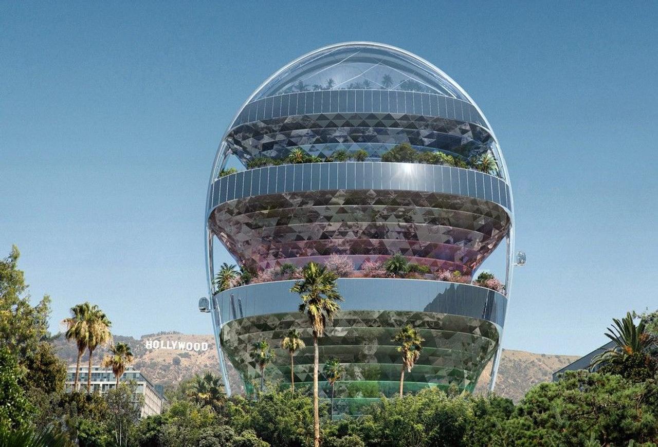 MAD Architects представила концепцию офиса будущего Office of the Future в голливудском стиле для комфортной работы