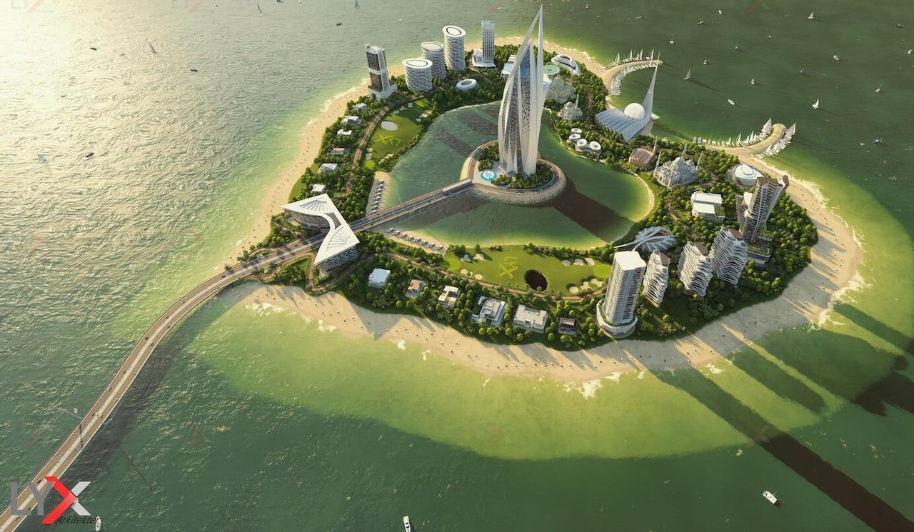 Дубайский остров-сердце LYX Heart Island раскроет новые грани арабской сказки