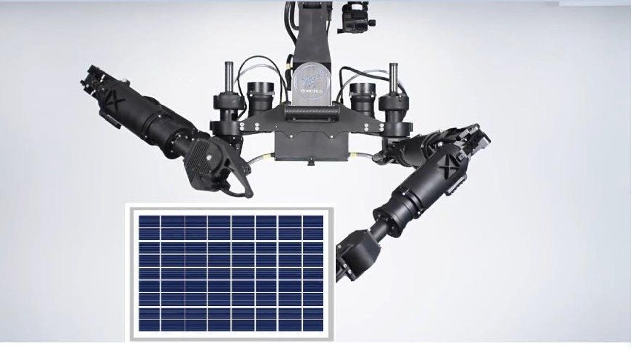 Автономная роботизированная система будет монтировать модули на солнечных электростанциях