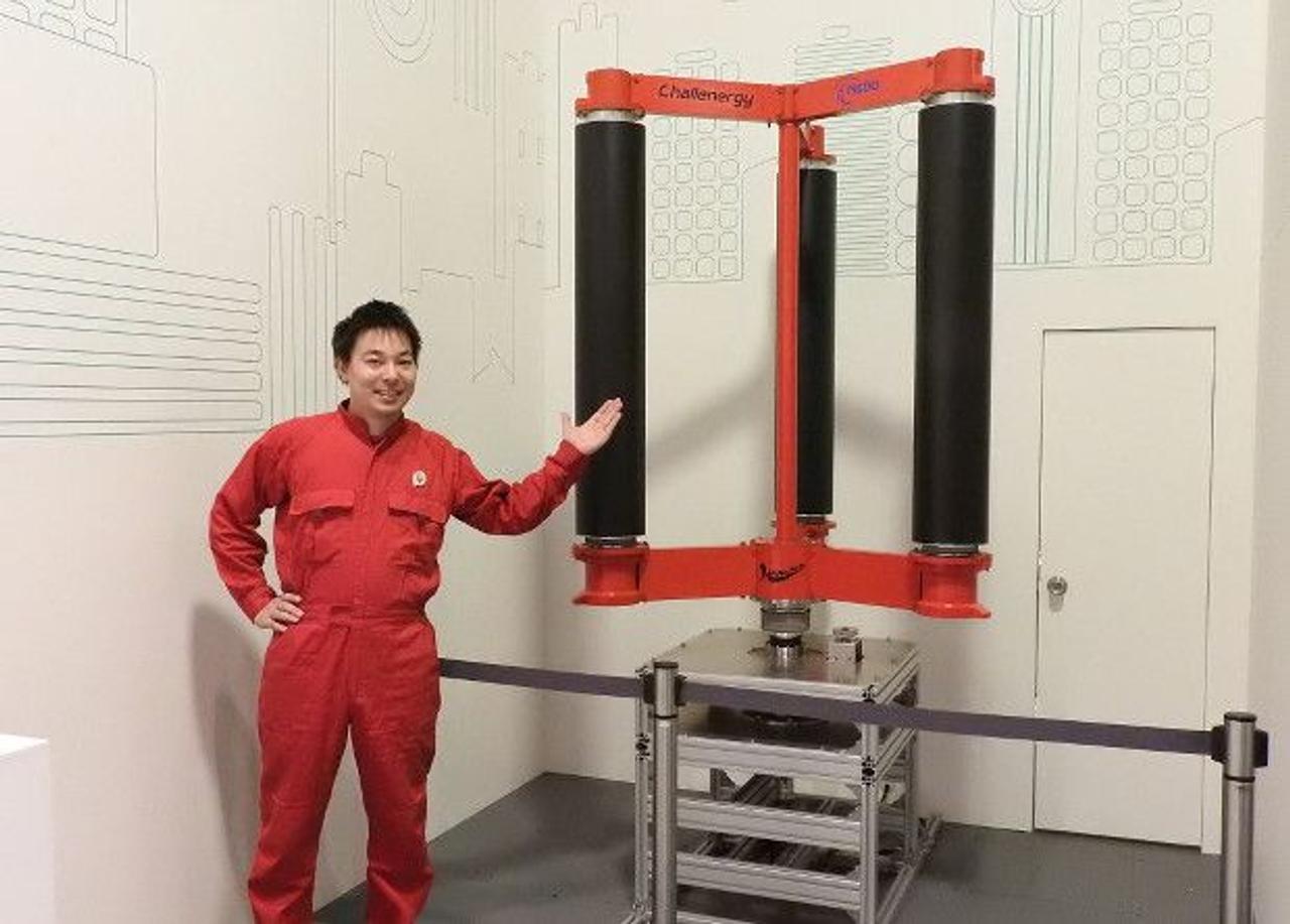Японские ветрогенераторы Magnus способны преобразовывать мощь тайфунов в энергию
