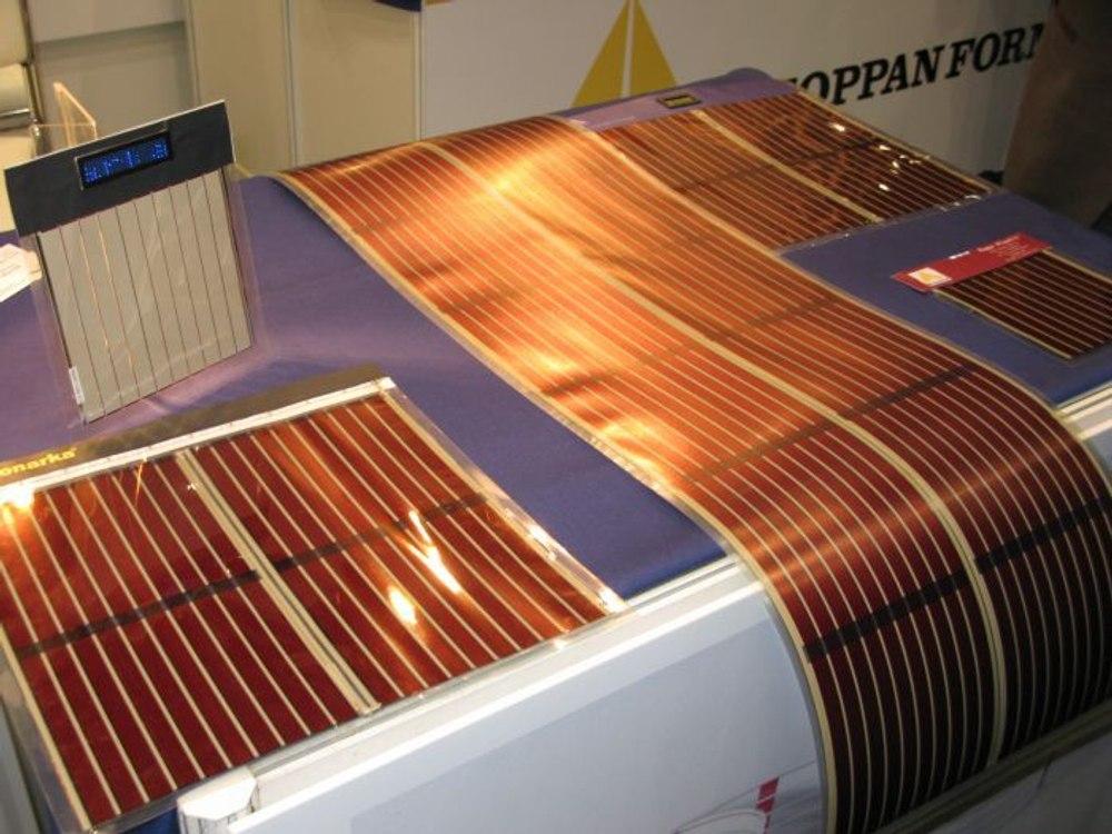 Японские ученые увеличили эффективность органических солнечных элементов в 1,5 раза