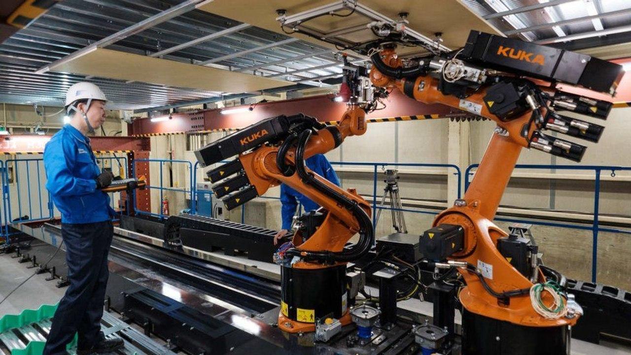 Роботы строители нового поколения от SHIMIZU заменят рабочих на стройках