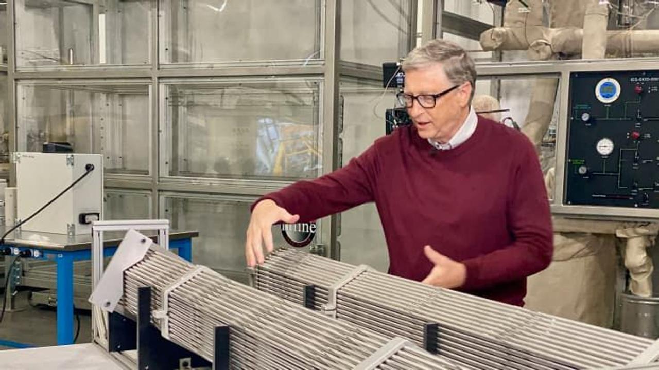 Вместо угольной электростанции компания Билла Гейтса построит ядерный реактор нового поколения