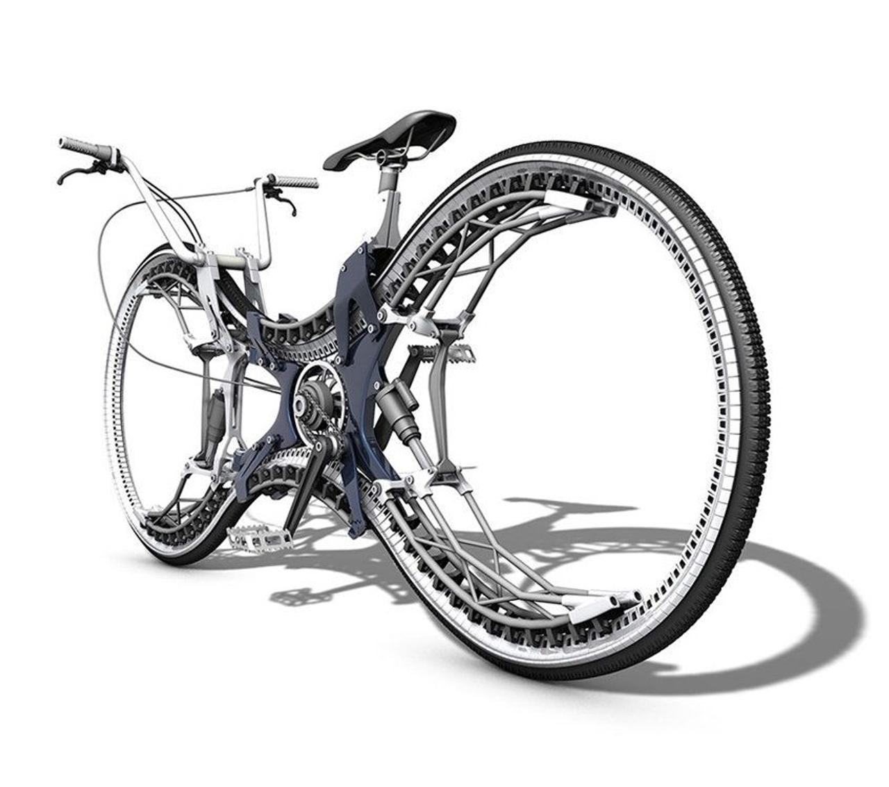 Концепция полноприводного велосипеда «Бесконечность» от дизайнера Стефана Хенриха