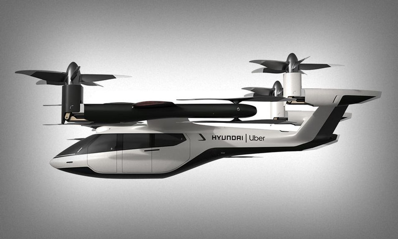 Автопроизводитель Hyundai решил заняться выпуском летающих такси
