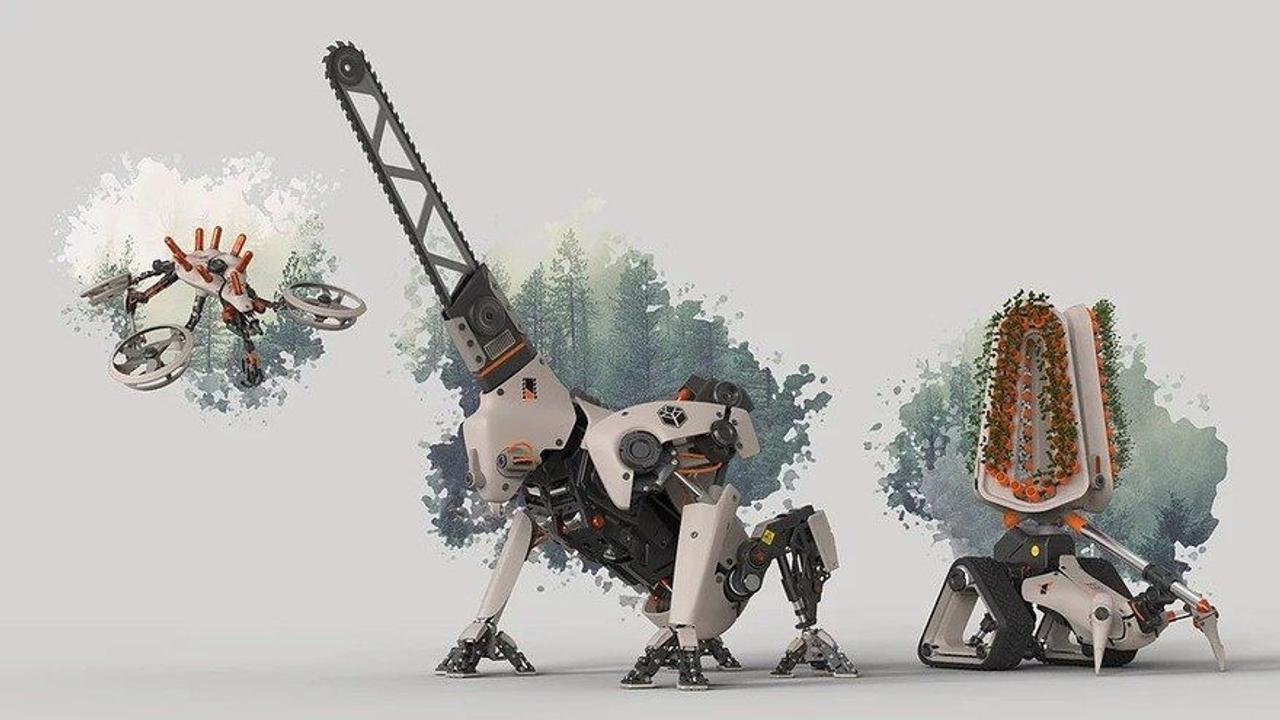 Автономные роботы, лесные - рейнджеры, помогут эффективно восстановить леса