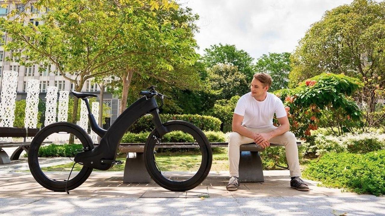 Reevo — дешевый электровелосипед с колесами без ступицы