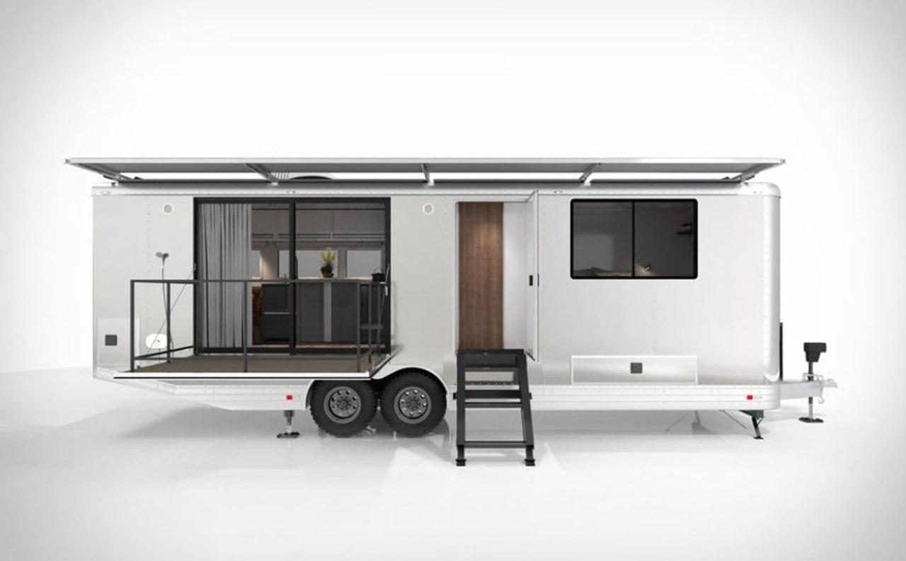 Энергонезависимый мобильный дом на колесах от студии Living Vehicle