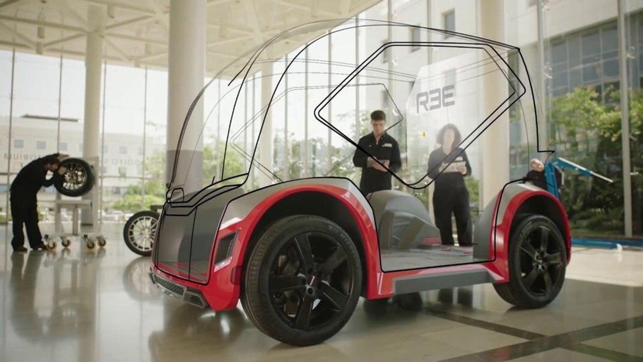 Стартап REE разработал универсальную платформу которая подходит для любого электромобиля