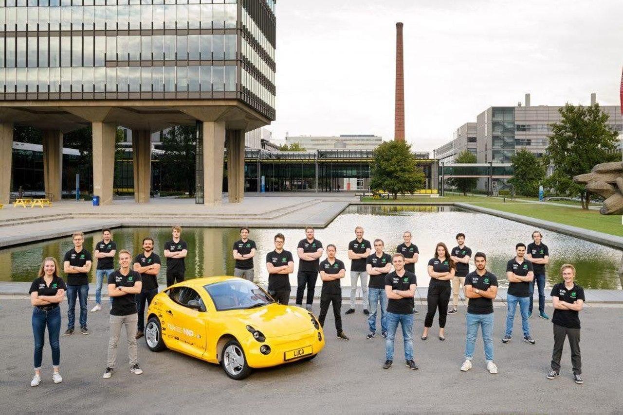 В Нидерландах презентовали биоавтомобиль Luca