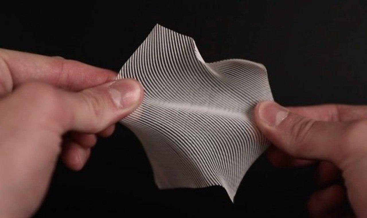 С помощью 3D-печати создали практичную пластиковую ткань