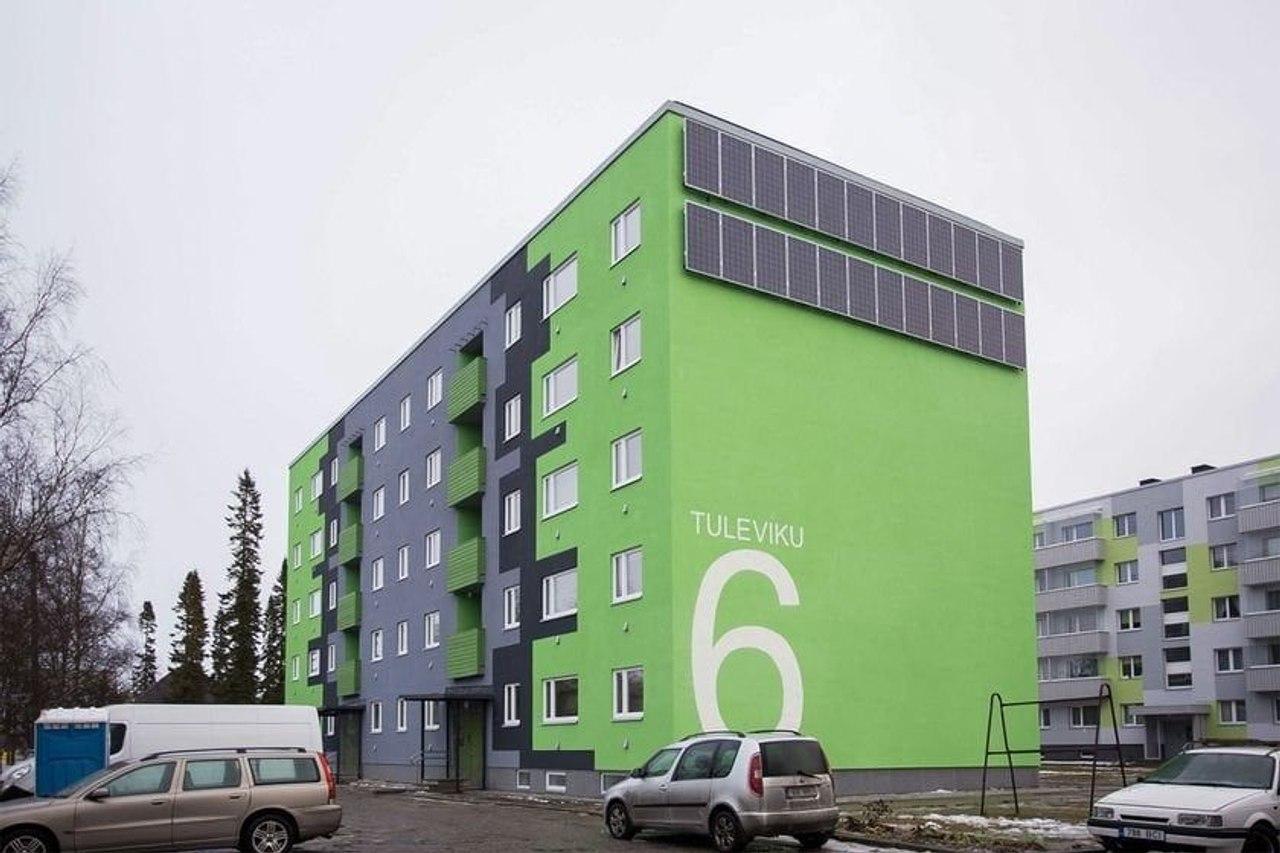 Капитальный ремонт в Эстонии - любой многоквартирный дом может получить субсидию до 1 миллиона евро