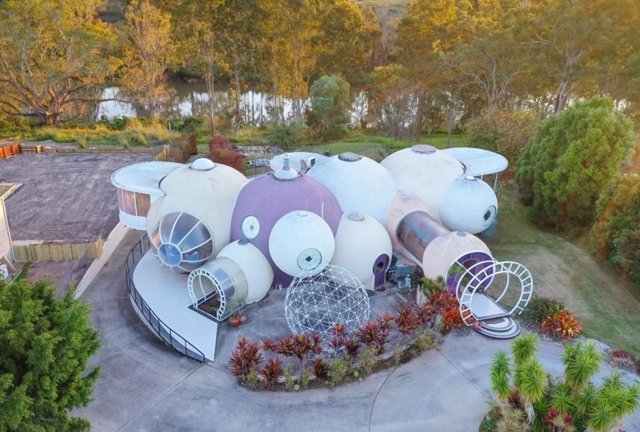 Необычный «дом с пузырями» архитектора Грэма Бирчелла