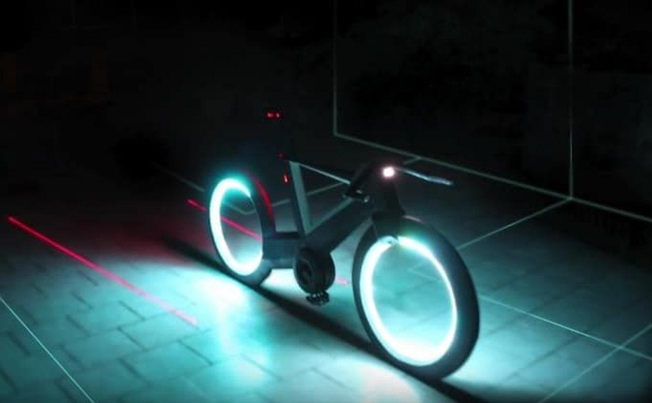 Cyclotron - уникальный велосипед будущего!