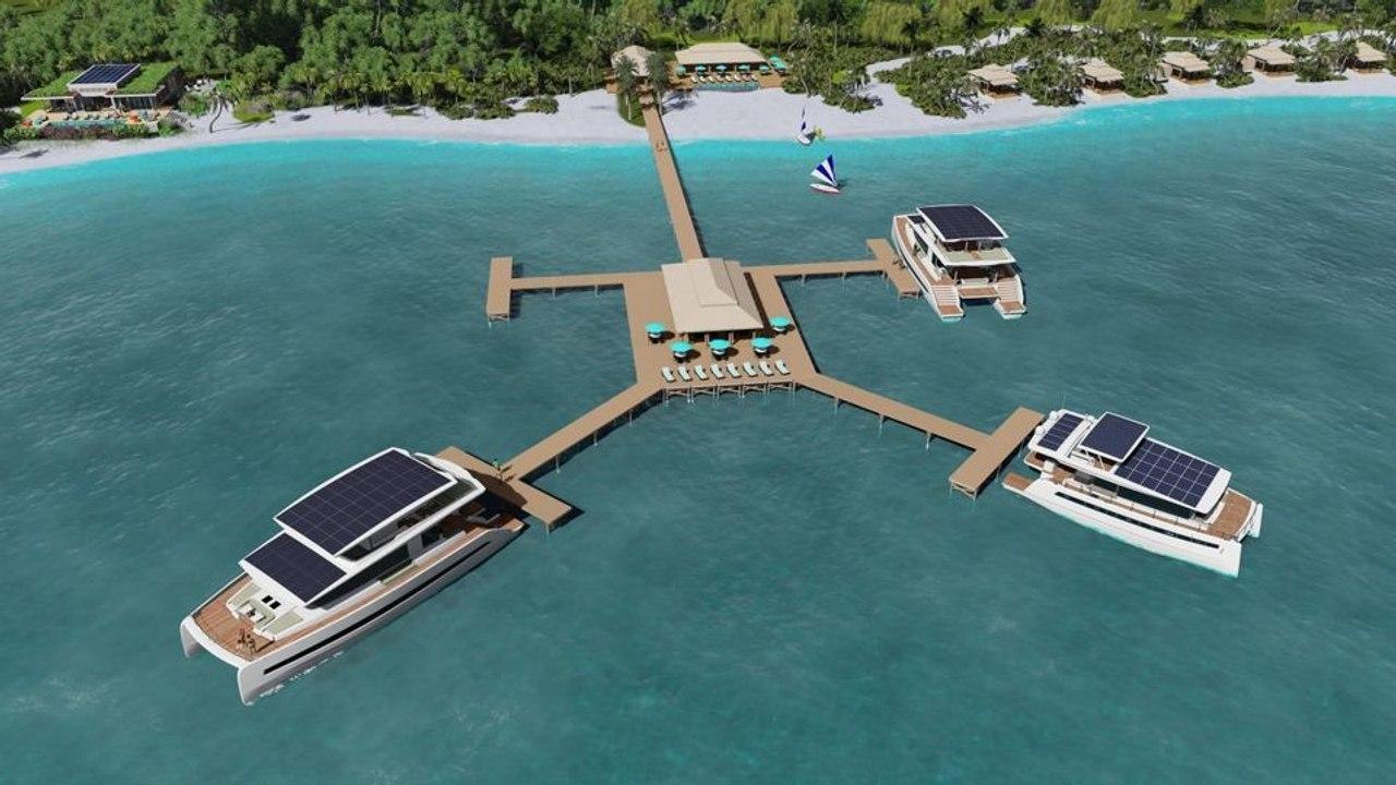 Silent Yachts предлагает концепцию плавучей виллы на солнечной энергии