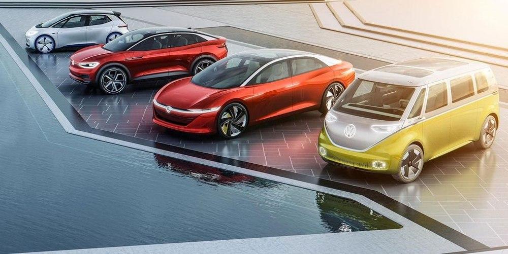 «Это будет гонка с Tesla», - VW о новых инвестициях в электромобили и беспилотное вождение