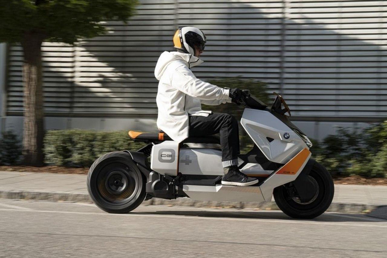 Футуристический электомотоцикл от BMW вскоре будет запущен в производство