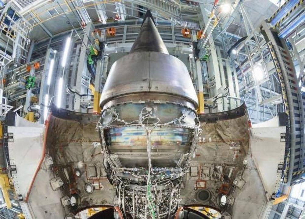 Начались испытания авиационного двигателя нового поколения UltraFan на чистом биотопливе