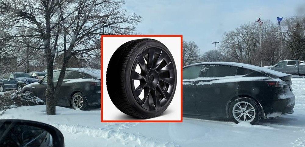 Tesla запускает зимнюю комплектацию колес и шин для Model Y