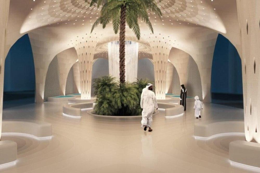 Модульный оазис, напечатанный на 3D-принтере, сохраняет естественную прохладу в Абу-Даби