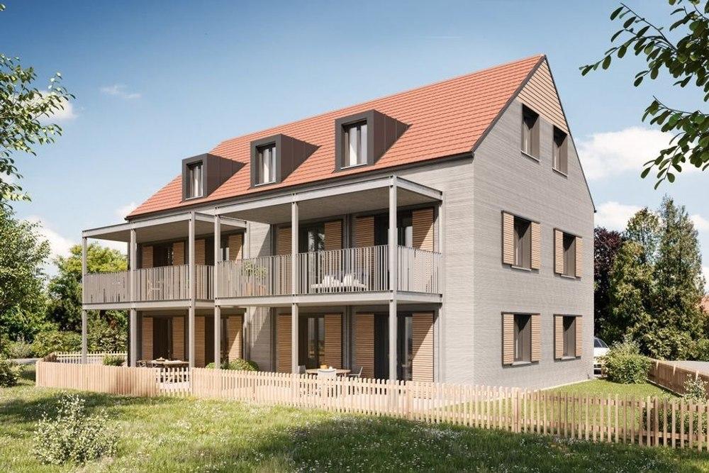 В Германии строят 3-х этажный жилой дом используя «самый быстрый строительный 3D-принтер»