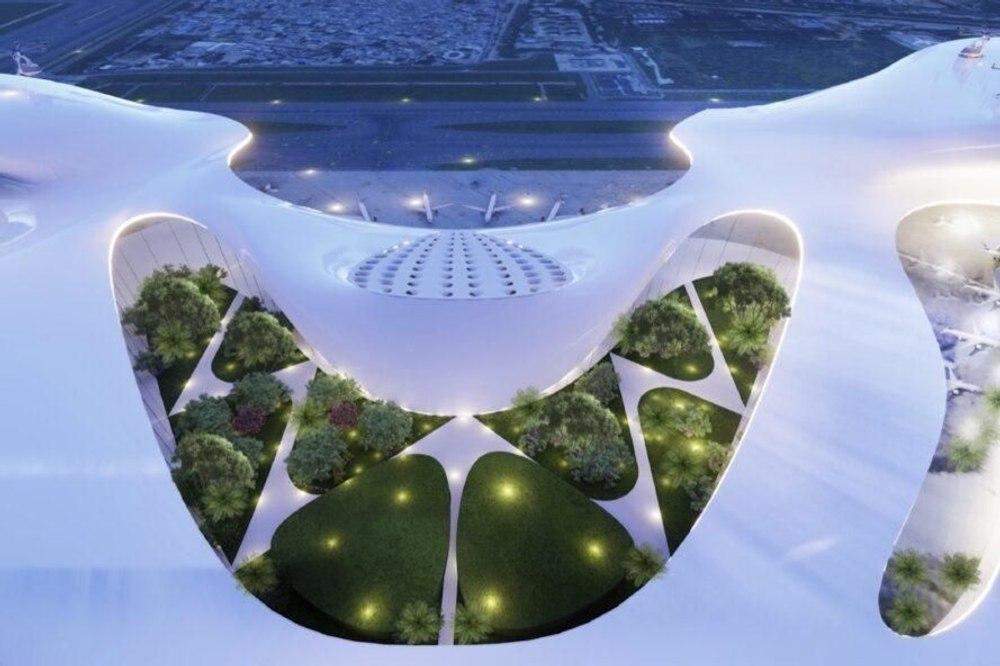 Концепция аэропорта Green Gateway с нулевым уровнем выбросов