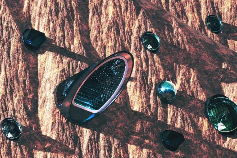 Nüwa, проект автономного города на Марсе