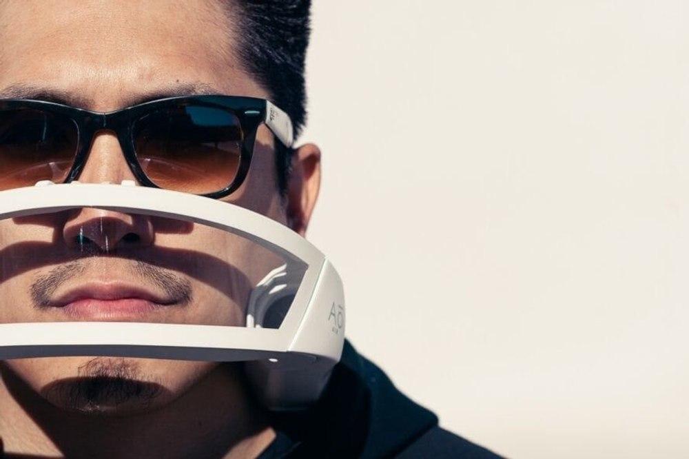 Футуристические маски для очистки воздуха борются с загрязнением с помощью инновационной системы фильтрации