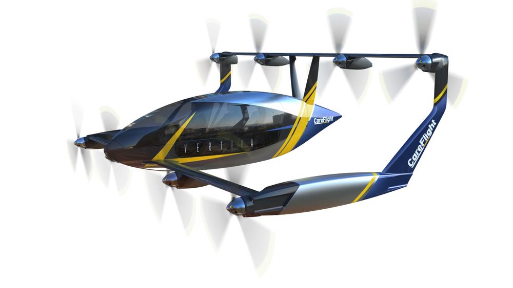 Компания AMSL Aero представила прототип электрического  мультикоптера с дальностью полета до 800 км
