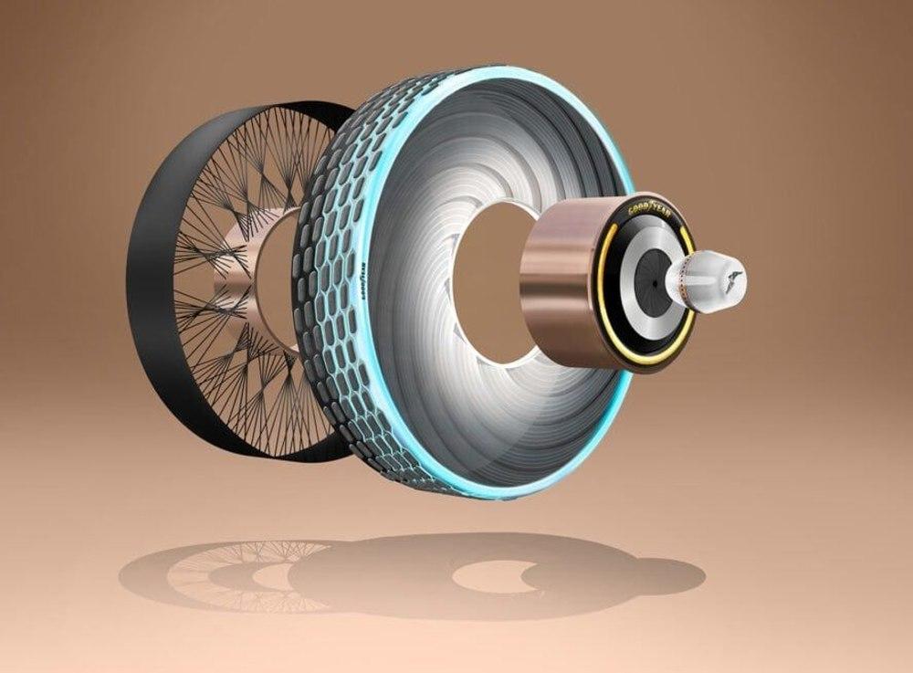 Самовосстанавливающиеся шины от Goodyear нацелены на экологичность