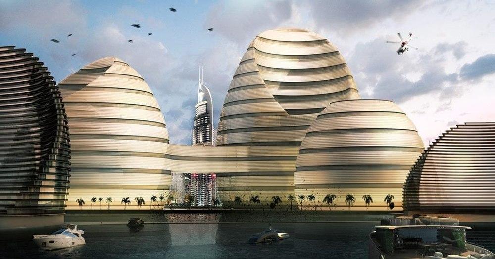 «Органический город» - жемчужина Персидского залива