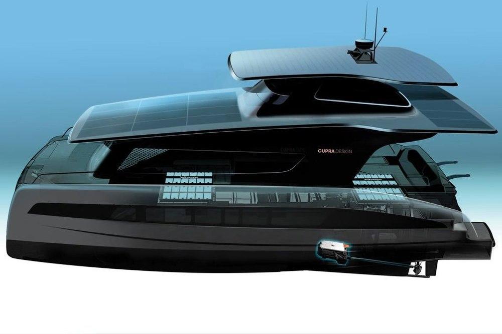 Volkswagen и Cupra работают над созданием электрической яхты на солнечных батареях
