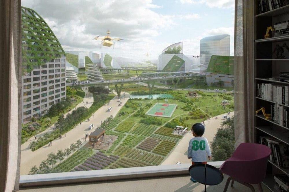 MVRDV представила проект нового высокотехнологичного «небесного города»