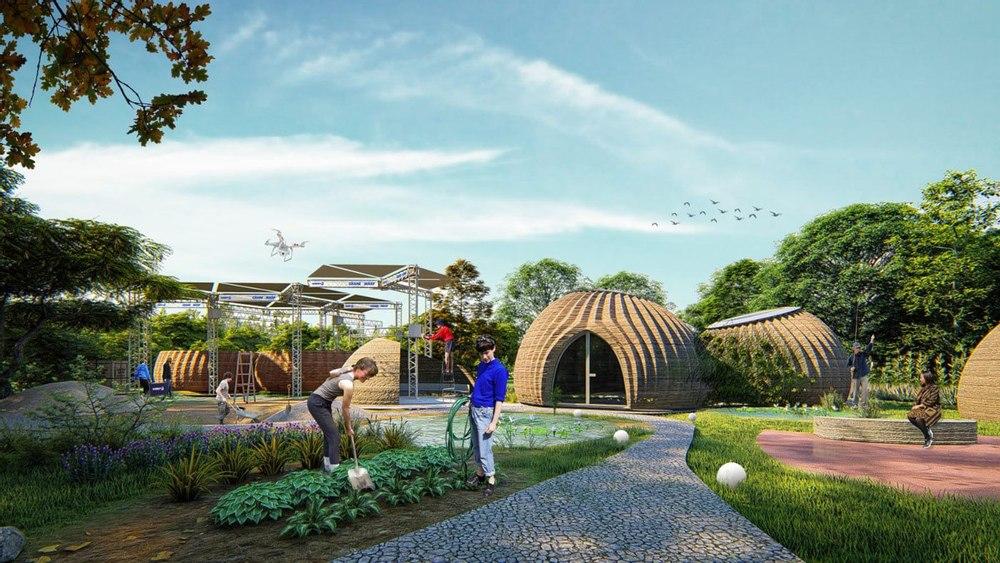 TECLA создает доступное жилье, напечатанное на 3D-принтере, для устойчивого образа жизни