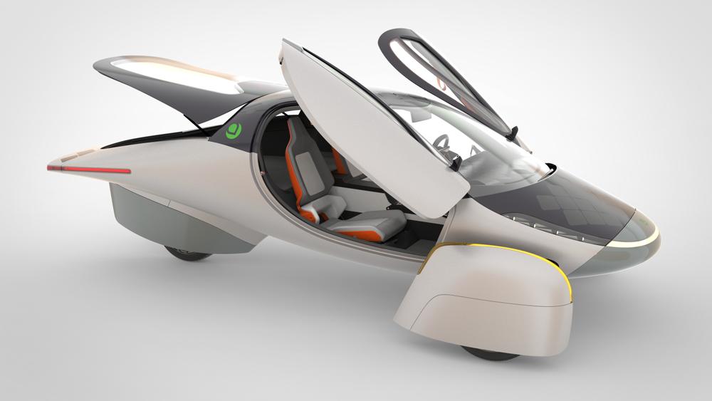 Aptera запускает в производство электромобиль на солнечных панелях с дальностью пробега 1600 км без подзарядки