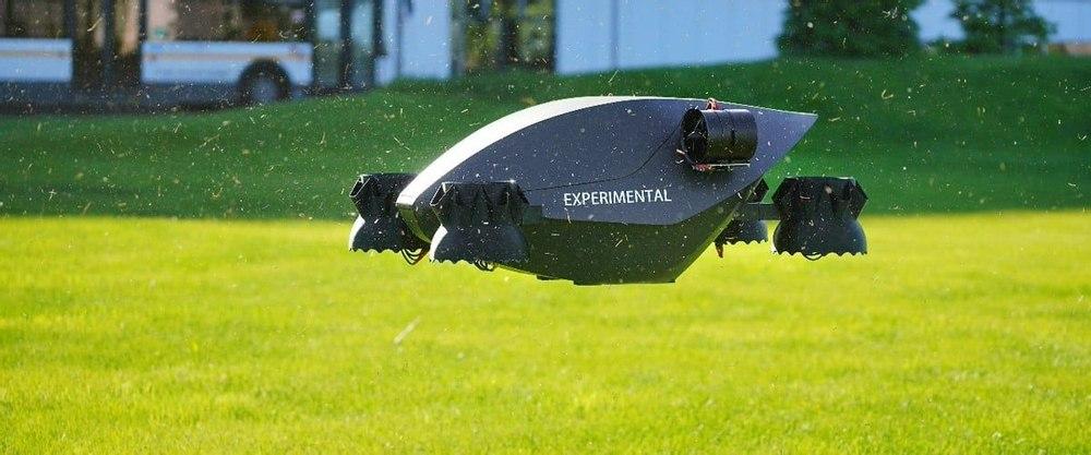 Инженеры Ховер создали революционный беспилотник, у которого нет винтов
