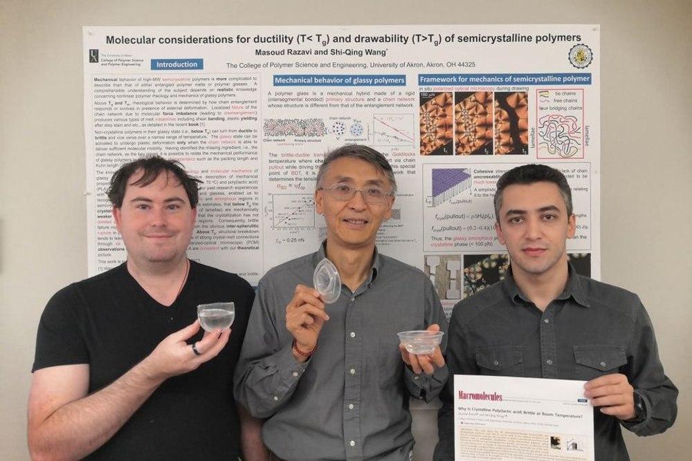 Новый прочный биопластик может удерживать кипящие жидкости