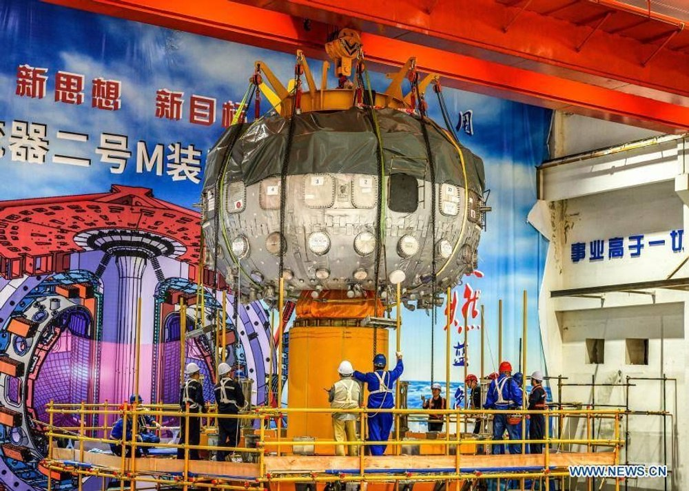 Китай зажег «искусственное солнце» нового поколения