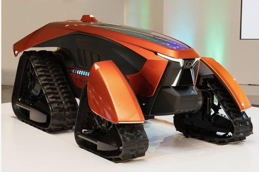 Kubota представил автономный электрический трактор
