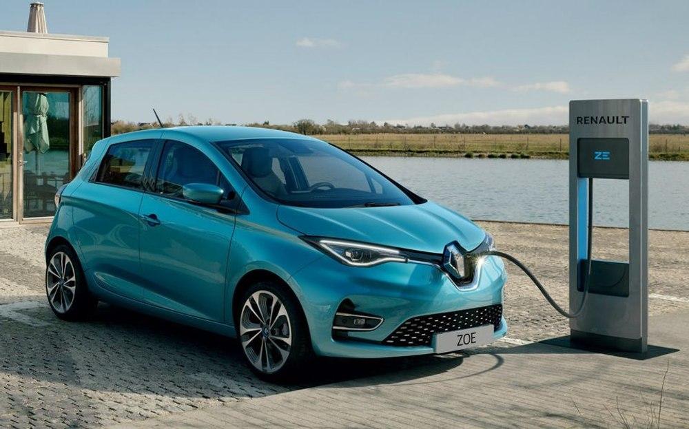 Renault ZOE - самый продаваемый электромобиль в Европе