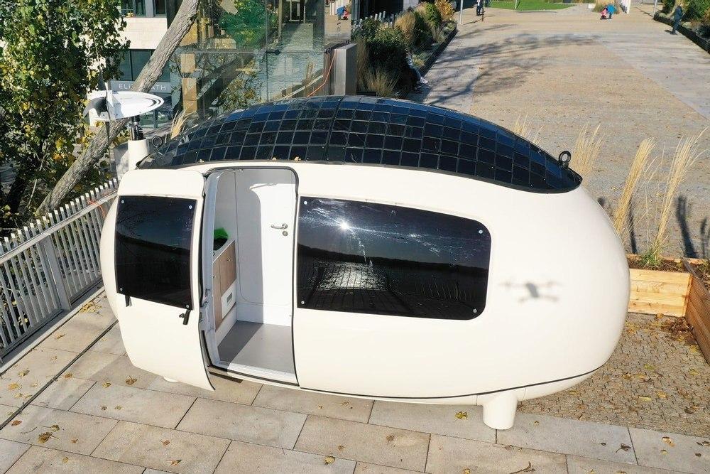 Ecocapsule выпустил более дешовую версию автономной экокапсулы в форме яйца