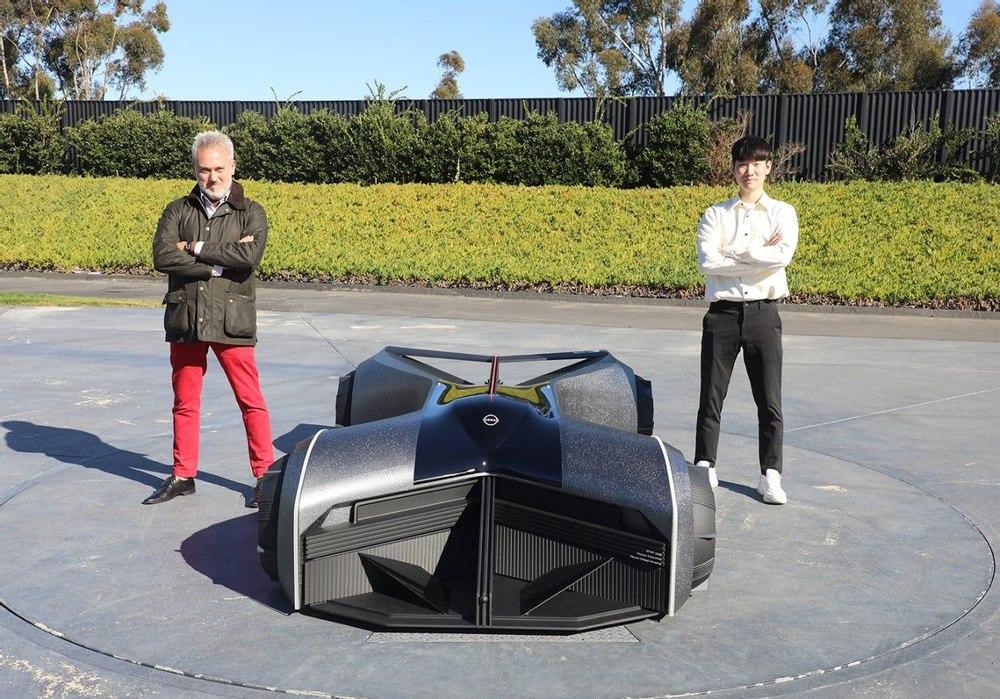 Студент разработал для Nissan футуристический концепт суперкара GTR-X 2050