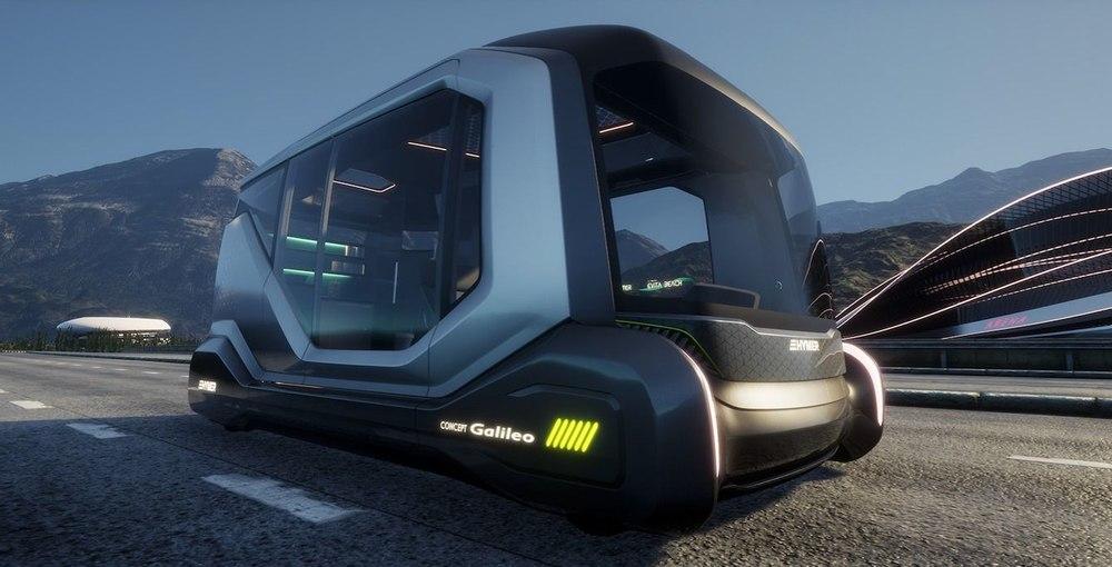 Автономный кемпинг Hymer Galileo выводит путешествия на новый уровень