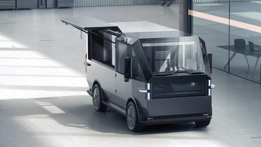 Canoo представил электрический, многоцелевой грузовой фургон для доставки