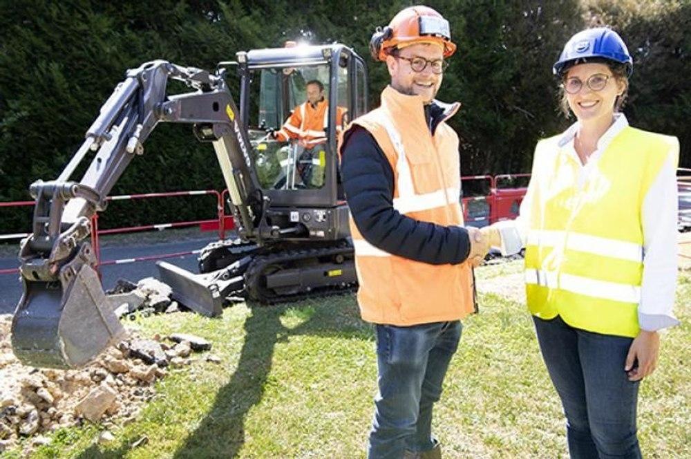 Volvo начал продажи тяжелой электрической техники для строительных работ