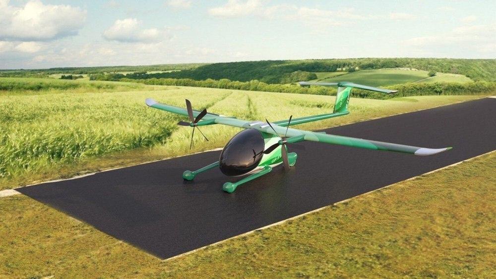 Электрический самолет STOL Metro Hop сможет взлететь с минимальной, 25-метровой взлетно-посадочной полосы
