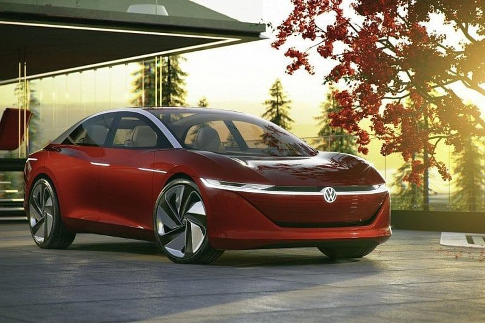 Новый электрокар Volkswagen ID Vizzion против Tesla Model S