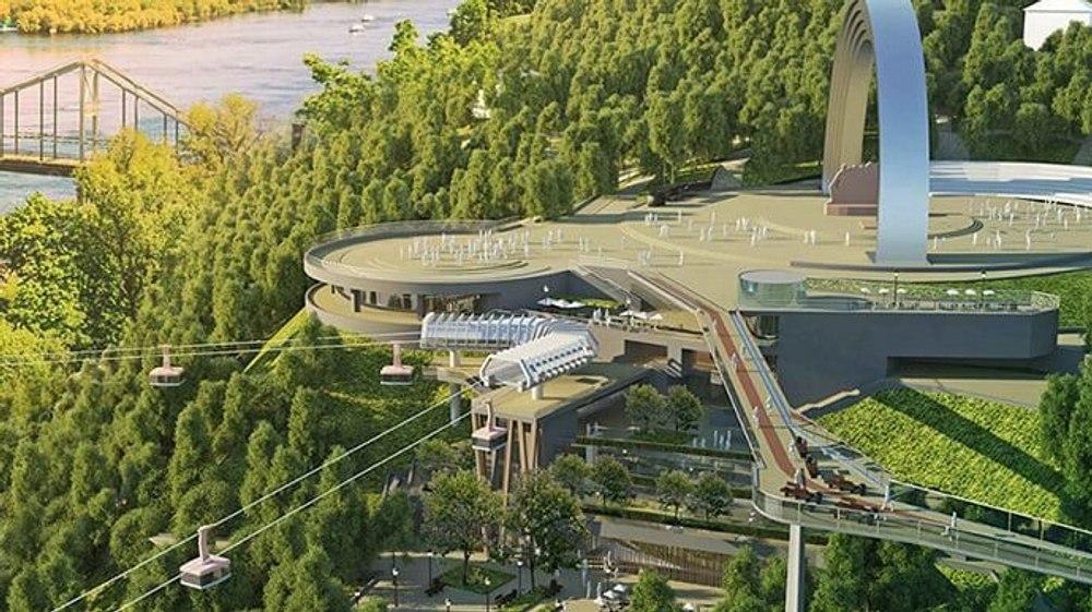 В Киеве начнут строительство первой канатной дороги